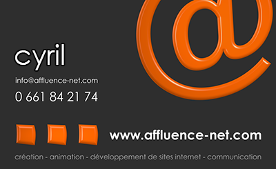 AFFLUENCE NET CREATION SITE INTERNET