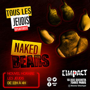 JEUDI A L'IMPACT BAR GAY