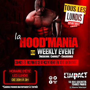 MONDAY AT L'IMPACT BAR GAY